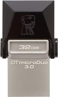 Pen Drive Kingston 32GB USB 3.0 Data Traveler Micro Duo - DTDUO3/32GB