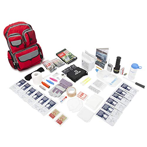 Emergency Zone 2 Person Family Prep 72 Hour Survival Kit/Go-Bag | Perfect Way to Prepare Your Family | Be Ready for Disasters Like Hurricanes, Earthquake, Wildfire, Floods | Now Includes Bonus Item!