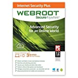 WEBROOT SecureAnywhere Internet Security Plus 2014 (3 Devices / 1 Year) Advanced Security Software for PC, Mac and Mobile (Android and iOS Devices