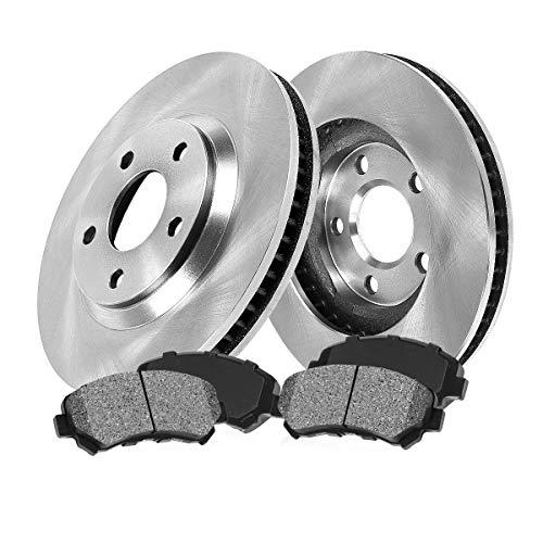 [ Base/GT / SN95 ] FRONT 281 mm Premium OE 5 Lug [2] Brake Disc Rotors + [4]...