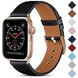 CeMiKa Leder Armband Kompatibel mit Apple Watch Armband 38mm 40mm 41mm 42mm 44mm 45mm, Lederband...