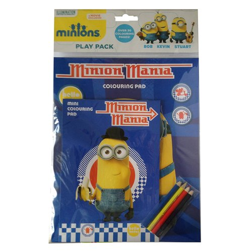 Anker Minions Play Pack, Plastic, Multi-Colour