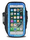 Armpocket Seriously Good Gear Get Going Phone Armband, Medium Strap for iPhone 8, 7, 6, Galaxy S7, S6, or Phones up to 5.75 Inches
