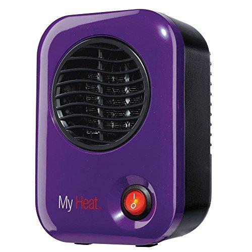 Lasko 106 Space Heater, Compact, Purple