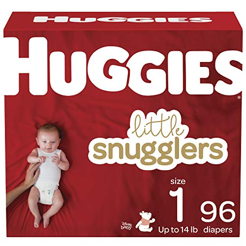 Huggies Little Movers Diapers, Size 3, 84 Ct