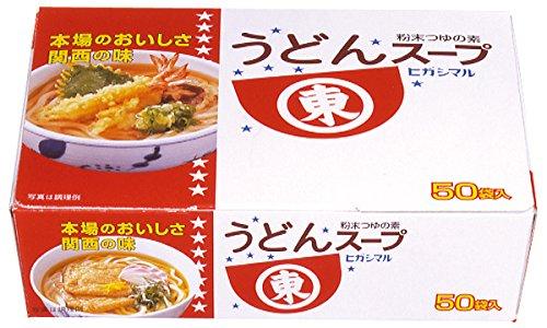 ヒガシマル醤油 うどんスープ8g(50P