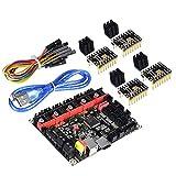 KINGPRINT 4 * TMC2130 V2.0 SPI con placa de controlador SKR V1.3 Smoothieware de 32 bits para impresoras 3D Compatible con el controlador 12864LCD / Support A4988 / 8825 / TMC2208 / TMC2100 …
