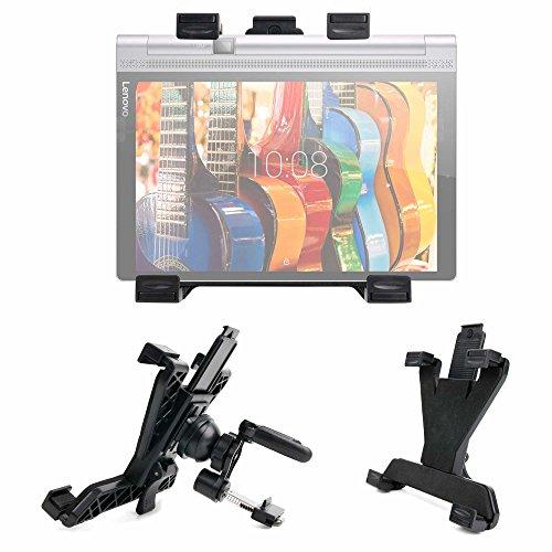 DURAGADGET Soporte para La Rejilla De Ventilación del Coche para Tablet Lenovo Yoga Tab 3 Plus/Miix 510 / Huawei MediaPad M3
