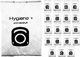 Green Label Pack de 20 Bolsas para Polvo y Antiolor Higiene + para Aspiradoras...