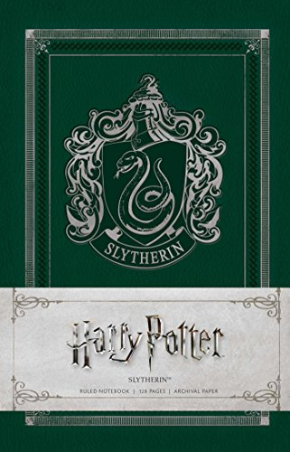 Harry Potter - Slytherin Ruled Notebook