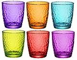 Bormioli Rocco Palatina Vasos Multiusos 320ml - Multicolor - 6 unidades