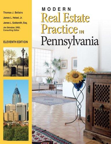 Modern Real Estate Practice in Pennsylvania 11E Update