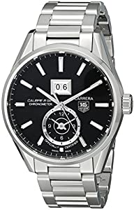 TAG Heuer Men's WAR5010.BA0723 Analog Display Automatic Self Wind Silver Watch image