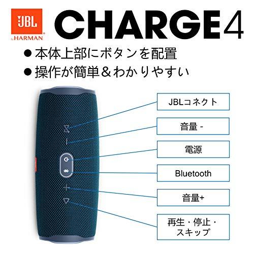 JBL(ジェイビーエル)『Charge4ポータブルBluetoothスピーカー(JBLCHARGE4)』