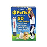 PetTest Advocate Test Strips for Blood Glucose Meter for Dogs and Cats
