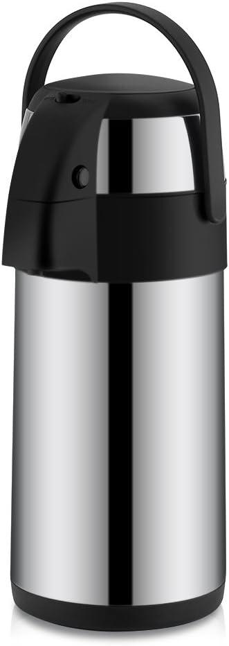 Barstool-Cbin 3 price Liter Water Airpot Vacuum Steel NEW before selling ☆ Stainless Insula