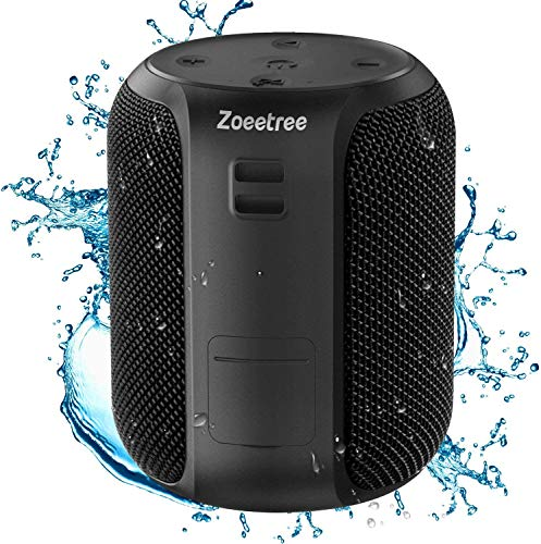 Altavoz Bluetooth Portatil, ZoeeTree Mini Altavoces Bluetooth 5.0 Impermeable IPX7, 28 Horas...