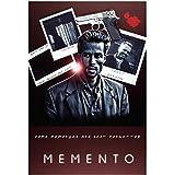 Sanwooden MementoMovie Poster Cover Leinwandbilder