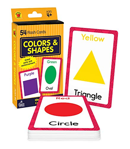Colors and Shapes Brighter Child Flash Cards