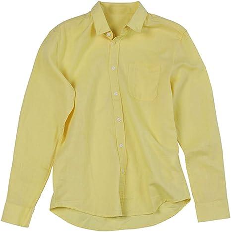 Overdose Camisas Hombre Cuadros Manga Larga T Shirt Hombre ...