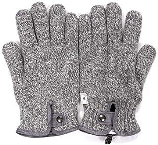 [アルポ] ウールニット グローブ グレー 手袋 メンズ AP182UA SPW91 765 S
