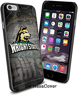 (Available for iPhone 4,4s,5,5s,6,6Plus) NCAA University sport Wright State Raiders , Cool iPhone 4 5 or 6 Smartphone Case...