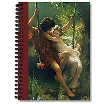 Spiral Notebook Pierre Auguste Cot Springtime Composition Notebooks Journal With Premium Thick Weekly Planner Paper