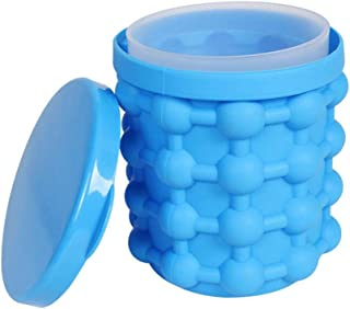 Ice Cube Maker Genie Revolutionary Space Saving Ice-Ball Makers Bucket Party Drink Silicone Trays Mold Kitchen Tools for C...