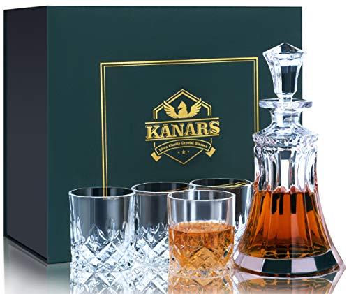 Vasos Whisky Cristal Tallado vasos whisky cristal  Marca KANARS