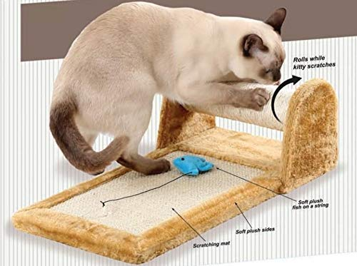 Rolling Cat Scratcher Toy...