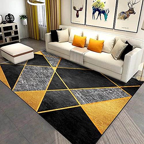 MENEFBS Alfombra multifunción de algodón impreso, para la entrada de lavandería, cocina, baño, dormitorio, dormitorio, 200 x 300 cm