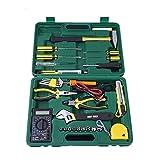 Práctico Juegos de herramientas de telecomunicaciones Herramientas de hardware Herramientas de combinación de hogar Reparación de electricista Set de 31 durable