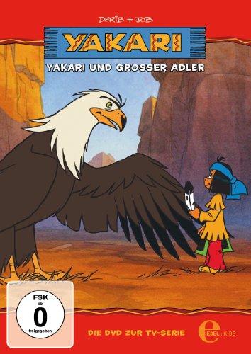 """Yakari - \""""Yakari und Großer Adler\"""" - Folge 1, Die DVD zur TV-Serie"""