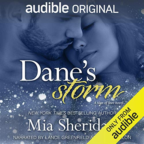 Dane's Storm audiobook cover art