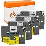 3 Bubprint Nastri compatibili per Brother TZE-231 per P-Touch 1000 1010 1250 1280 1290 D200VP D400 D400VP H100LB H101C H105 H105WB P700 900 12mm