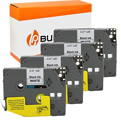 3 Bubprint Schriftbänder kompatibel für Brother TZE-231 für P-Touch 1000 1010 1250 1280 1290 D200VP D400 D400VP H100LB H101C H105 H105WB P700 900 12mm