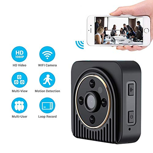 Review Of Mini Hidden Wireless Spy Camera 720P HD Security Surveillance Camera with Night Vision Fun...