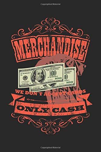 Merchandise | We Don't Accept Cards | Only Cash: Veranstaltungstechniker Geschenk Für Lichttechniker Crew Dina5 Gepunktet Notizbuch Tagebuch Planer Notizblock Journal Malheft Strazze