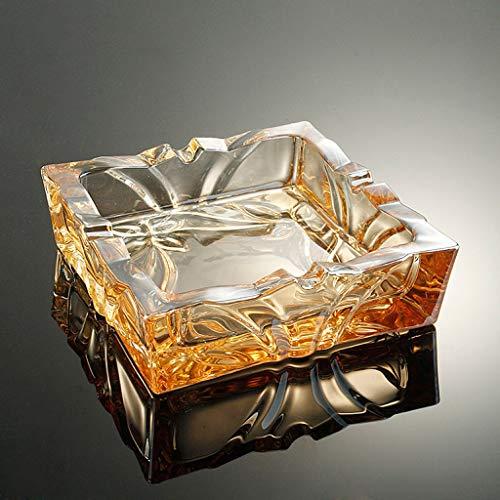 CKH creatieve persoonlijkheid Europese glazen asbak kantoor woonkamer salontafel gouden asbak