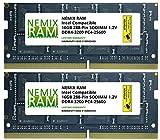 32GB Kit 2x16GB DDR4-3200 PC4-25600 SO-DIMM Laptop Memory by NEMIX RAM