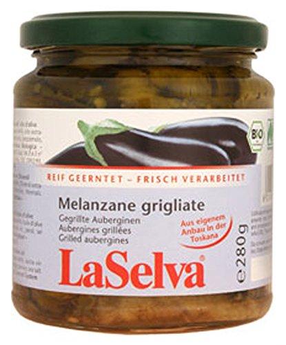 3er-SET Auberginen gegrillt in Olivenöl 280g LaSelva