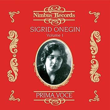 Sigrid Onegin Vol. 1