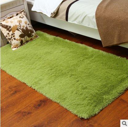 Kanggest Alfombras para Salón Modernas Dormitorio Antideslizante Alfombra, 50 * 80cm, Verde