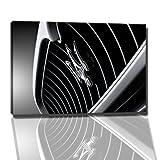 Maserati Bild auf Leinwand -- 120x80 cm fertig gerahmte