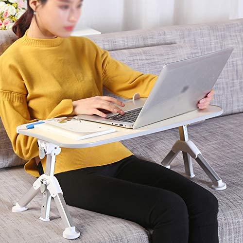 GWDJ Lapdesks Verstellbarer Laptop-Tisch, Tragbarer Steh-Schreibtisch, Faltbares Sofa-Frühstückstablett, Notebook-Computer-Ständer zum Lesen Und Schreiben ( Color : Style2 , Size : 520x300mm )
