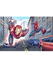 Iron Man Foto Behang Avengers Behang Aangepaste Grote Super Hero Muurschildering Art Kamer Decor Plafond Slaapkamer Kinderkamer