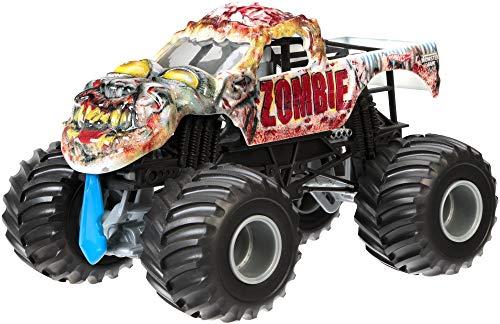 Mattel Hot Wheels - BGH24 - Véhicule Miniature - Véhicule de Jouet - Métal - Multicolore - Camion - Monster Jam - Zombie - 3 Ans