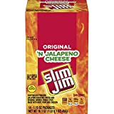 Slim Jim Cheese Jalapeno, 1.15 Oz (Pack Of 14), 1.15 Ounce (Pack of 14)