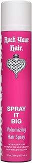 Rock Your Hair Spray It Big Volumizing Hairspray, 10 Ounce