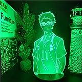 DGUOHAC Lámpara de animación decoración del Dormitorio de los niños lámpara de Noche Color lámpara de Mesa Caricatura